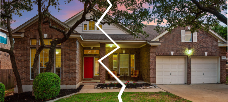 Ever wonder what happens to your current community property during your divorce?